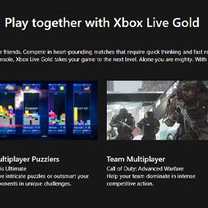 Xbox Live Gold Membership 12 Months Subscription Jouer ensemble