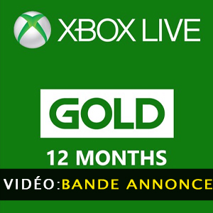 Xbox Live Gold Membership 12 Months Subscription Bande-annonce