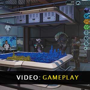XCOM Chimera Squad Gameplay Video