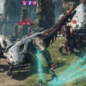 Xenoblade Chronicles X Nintendo Wii U Bataille