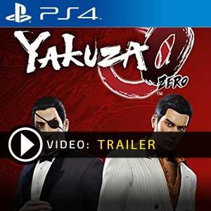 Yakuza 0 PS4 en boîte ou à télécharger