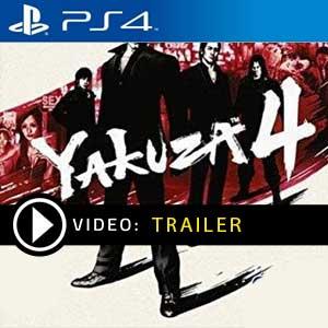 Yakuza 4 PS4 en boîte ou à télécharger