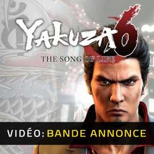 Yakuza 6 The Song of Life Bande-annonce vidéo