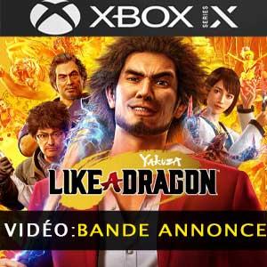Yakuza Like a Dragon Xbox Series trailer video