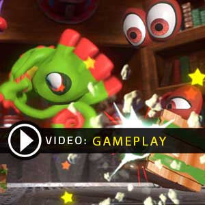 Yooka-Laylee Gameplay Video