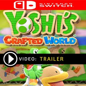 Yoshi's Crafted World Nintendo Switch en boîte ou à télécharger