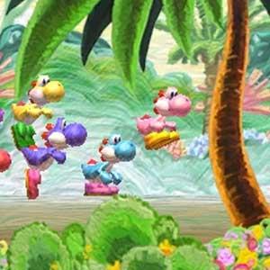 Yoshis New Island Nintendo 3DS Sauteur