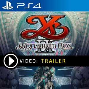 Ys IX Monstrum Nox PS4 en boîte ou à télécharger