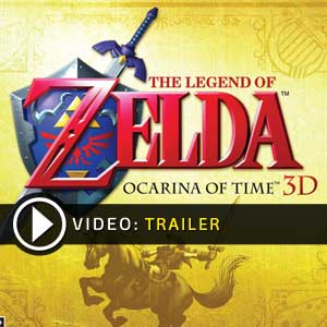 Zelda Ocarina of Time 3D Nintendo 3DS en boîte ou à télécharger